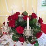 Mariage 09 juin 2018, thème rouge et or