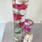Composition florale en eau by le wedding champenois