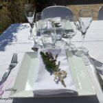 Anniversaire de mariage 30 ans. Thème champêtre blanc et pastel