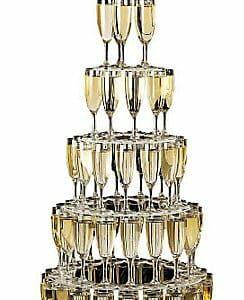 Pyramide de champagne