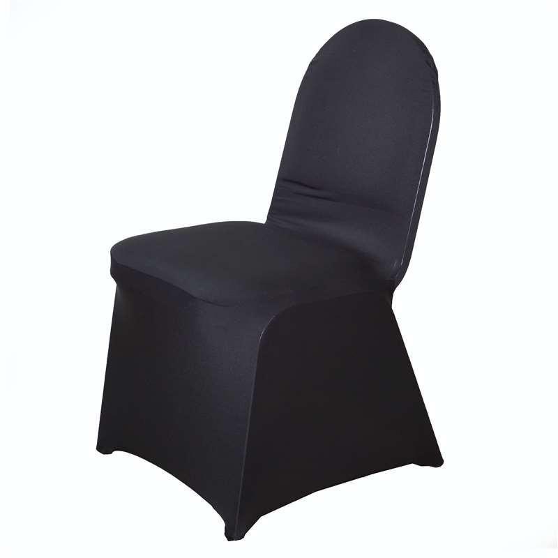 Location housse de chaise noire