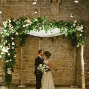 Arche bois mariage
